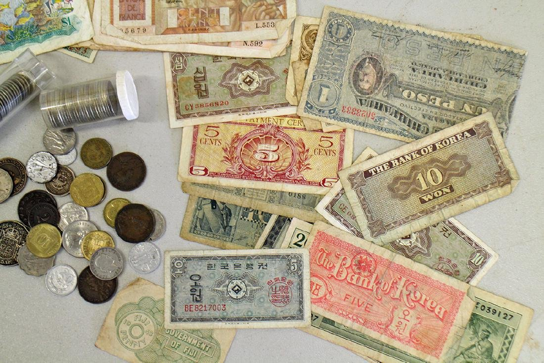 FOREIGN CURRENCY COLLECTION - 4