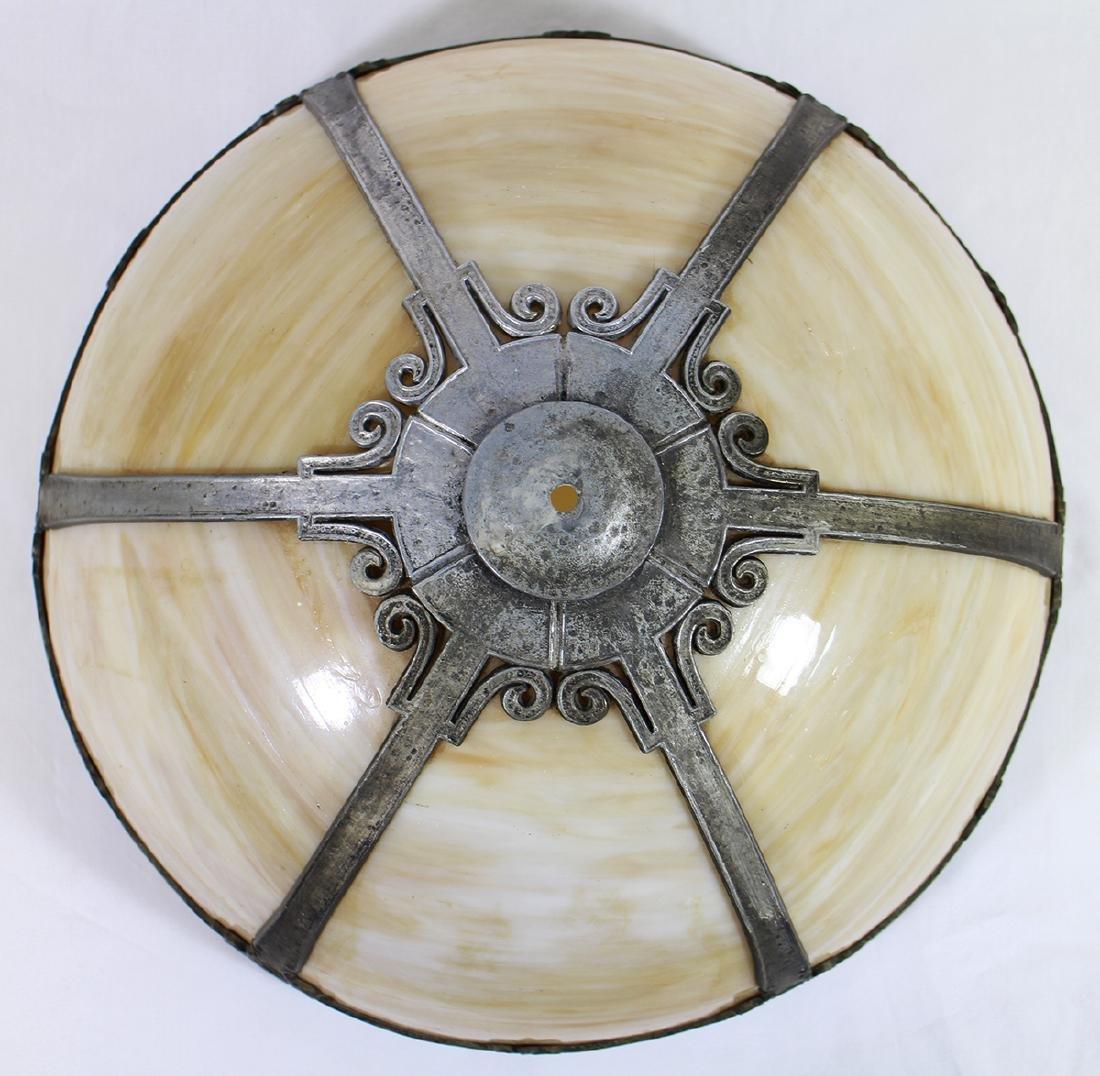 SLAG GLASS SHADE - 2