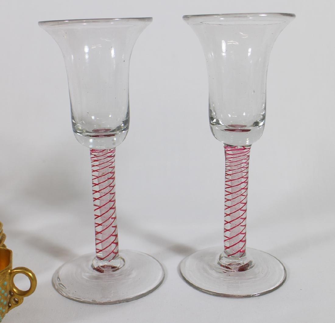 HAND BLOWN GLASSES, WATERFORD, DEMITASSE, & MORE - 4