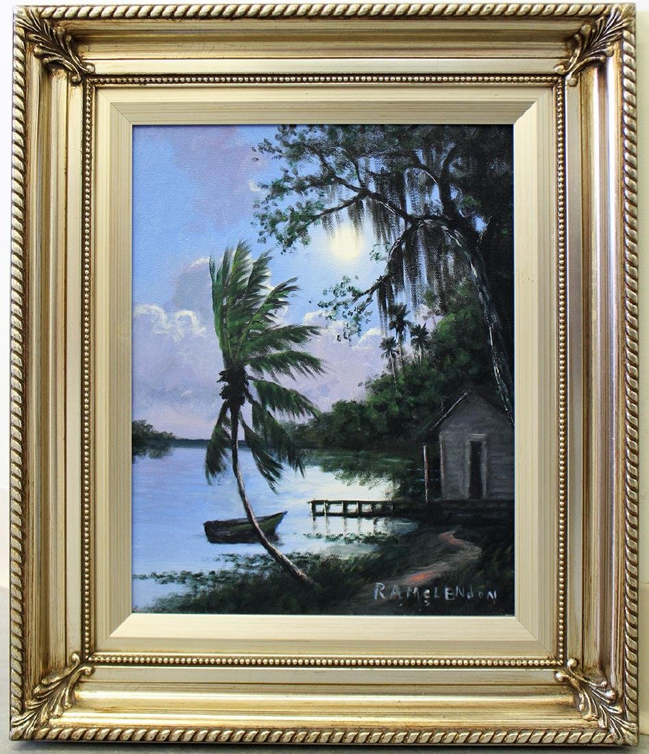 ROY MCLENDON HIGHWAYMEN PAINTING