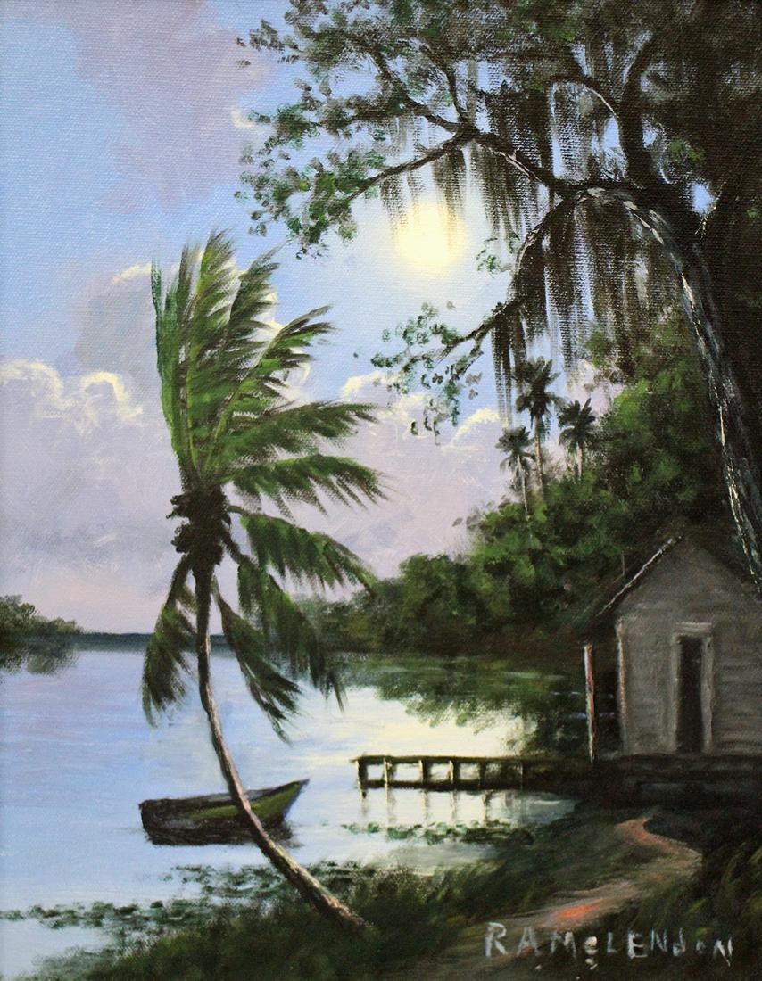 ROY MCLENDON HIGHWAYMEN PAINTING - 2
