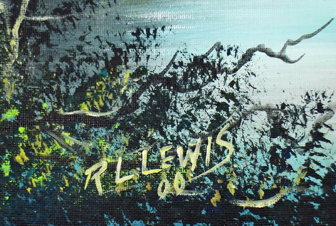 R.L. LEWIS HIGHWAYMEN PAINTING - 2