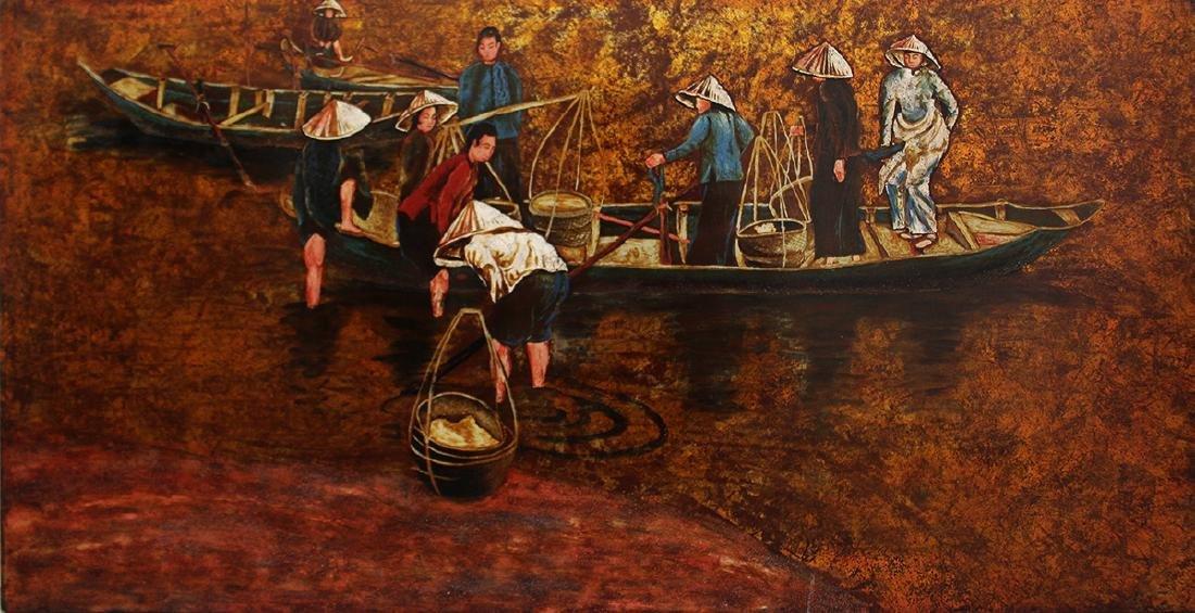 VIETNAMESE LACQUER ART
