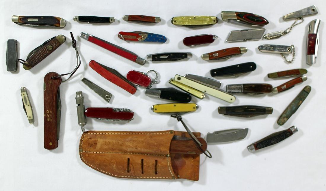 VINTAGE POCKET KNIFE COLLECTION