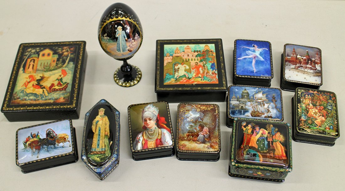 RUSSIAN LACQUER COLLECTION