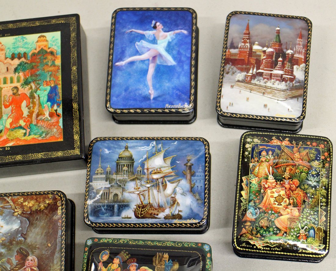 RUSSIAN LACQUER COLLECTION - 2
