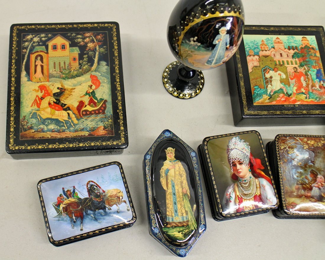 RUSSIAN LACQUER COLLECTION - 4