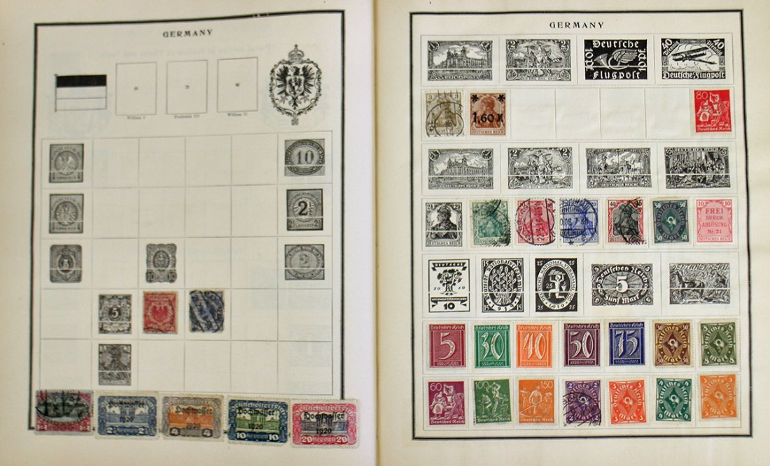 VINTAGE STAMP COLLECTION - 5