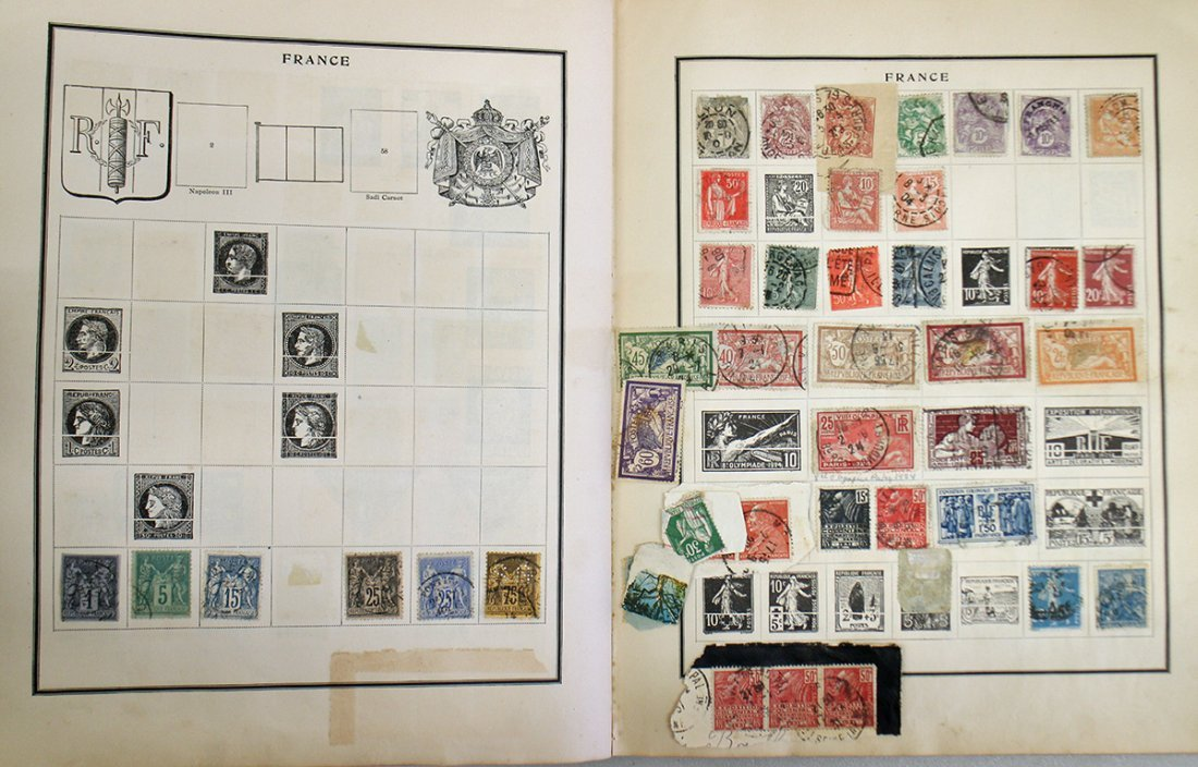 VINTAGE STAMP COLLECTION - 6