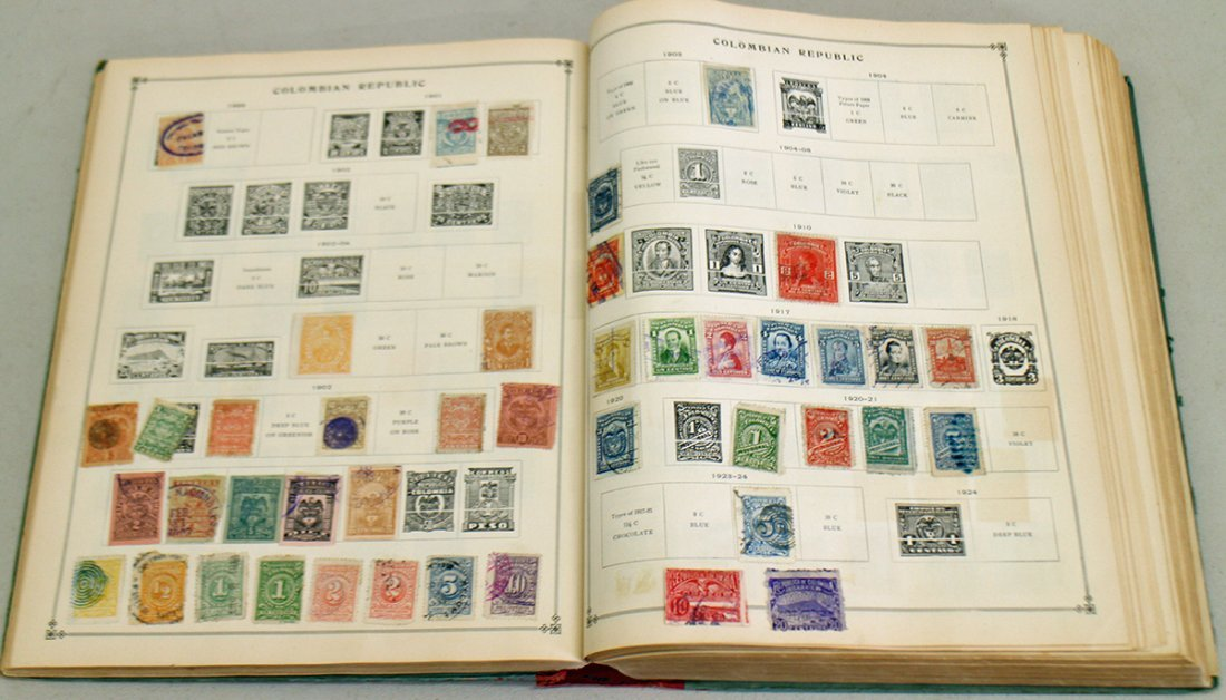 VINTAGE STAMP COLLECTION - 8