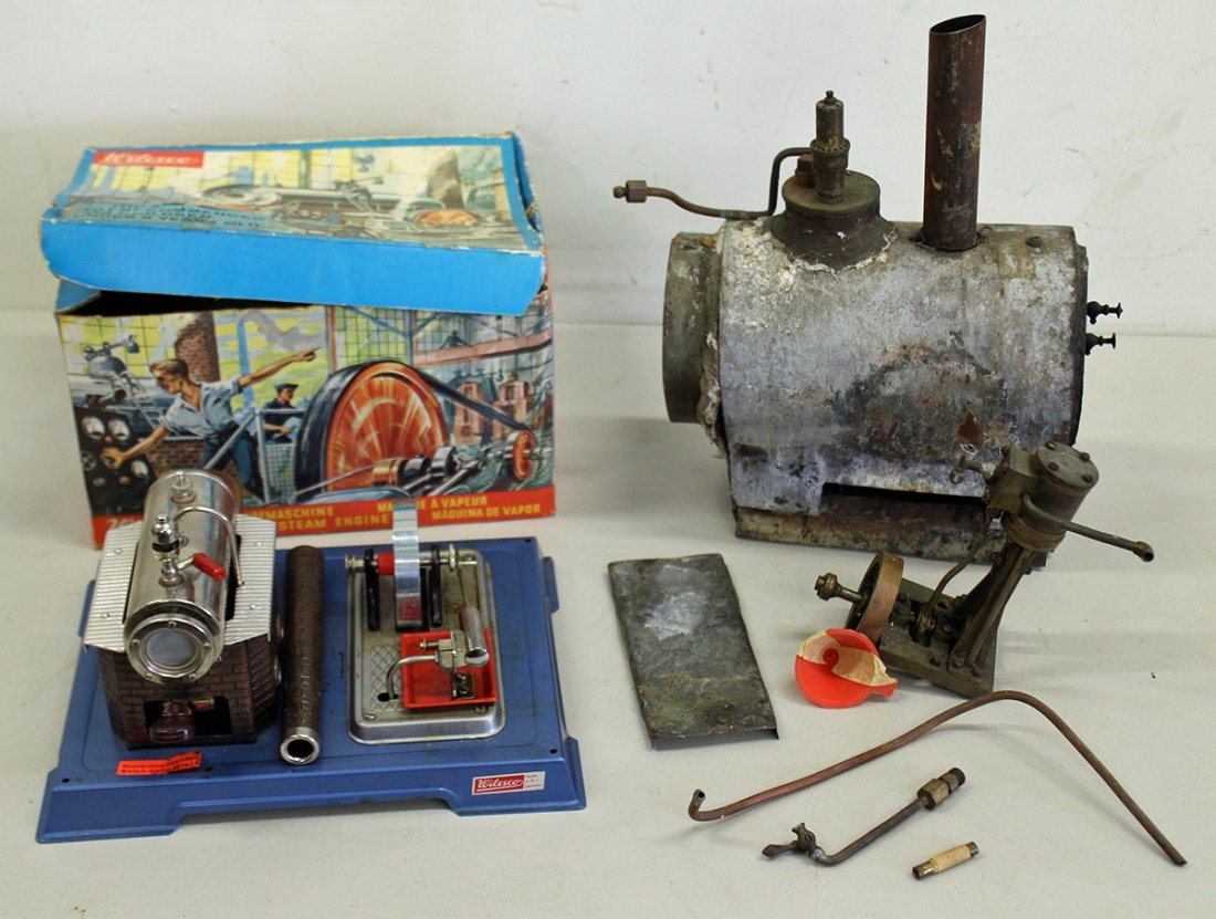 (2) VINTAGE STEAM ENGINES
