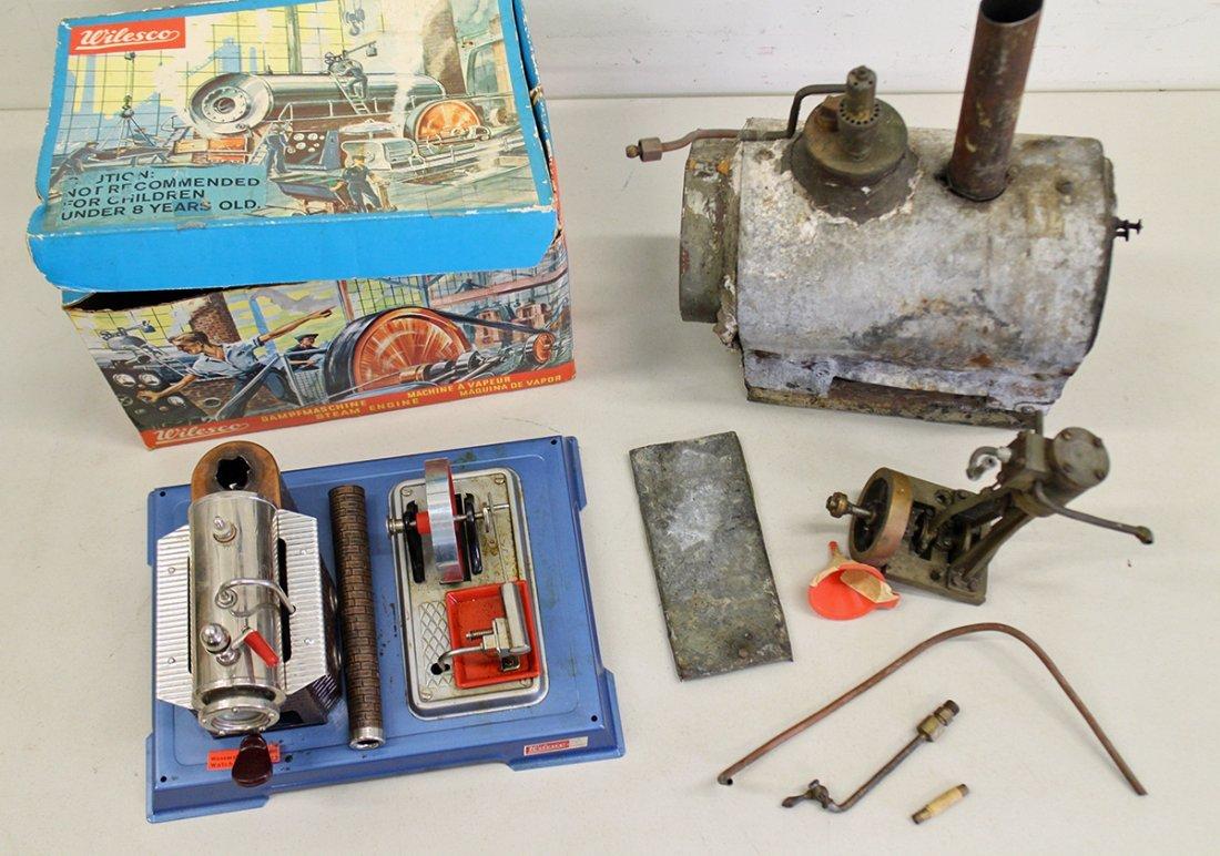 (2) VINTAGE STEAM ENGINES - 2