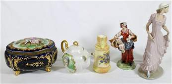 LIMOGES, CAPODIMONTE, NAO, & ROYAL WORCESTER