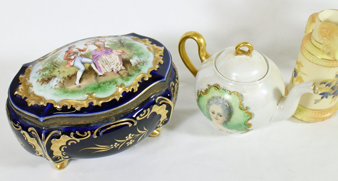 LIMOGES, CAPODIMONTE, NAO, & ROYAL WORCESTER - 2