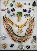 VINTAGE DESIGNER COSTUME JEWELRY COLLECTION