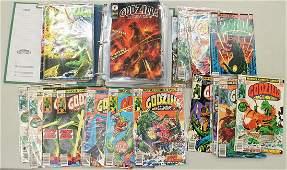 49 GODZILLA COMIC BOOKS