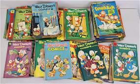 VINTAGE 1940'S & 1950'S WALT DISNEY COMIC BOOKS