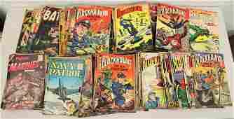 145 VINTAGE 1950S WAR COMIC BOOKS