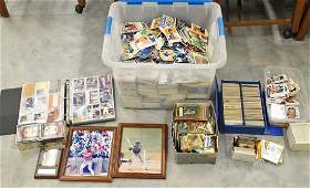 LARGE BASEBALL CARD COLLECTION  MORE