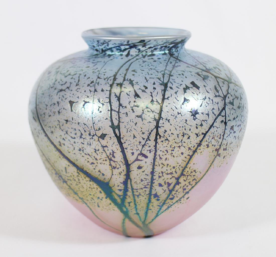 PEET ROBISON ART GLASS VASE