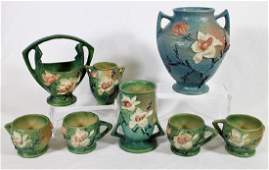 8 PC ROSEVILLE MAGNOLIA COLLECTION