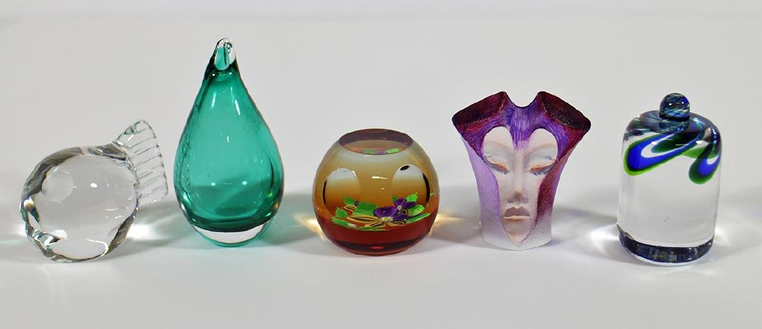 ART GLASS PAPERWEIGHTS & MORE