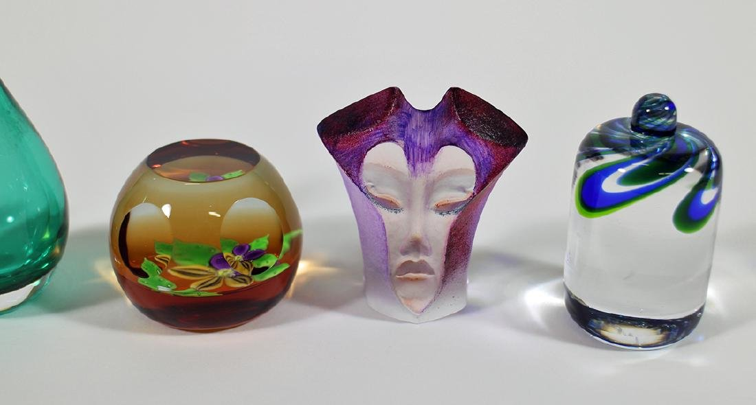 ART GLASS PAPERWEIGHTS & MORE - 2