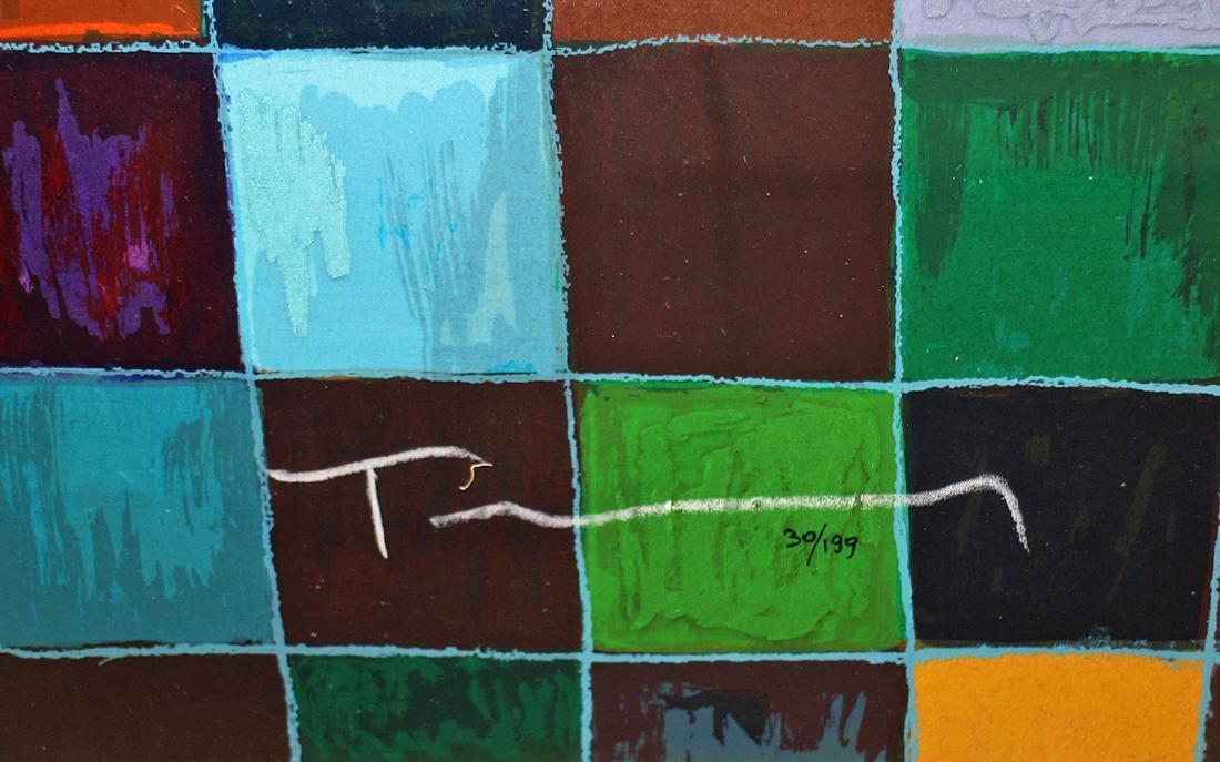 "ITZCHAK TARKAY ""MORNING TEA"" SERIGRAPH - 3"