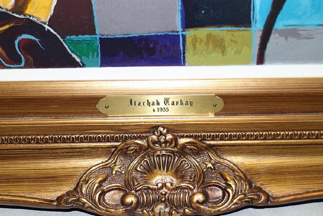 "ITZCHAK TARKAY ""MORNING TEA"" SERIGRAPH - 4"