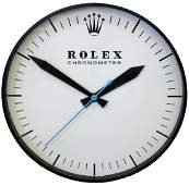 VINTAGE ROLEX CHRONOMETER WALL CLOCK