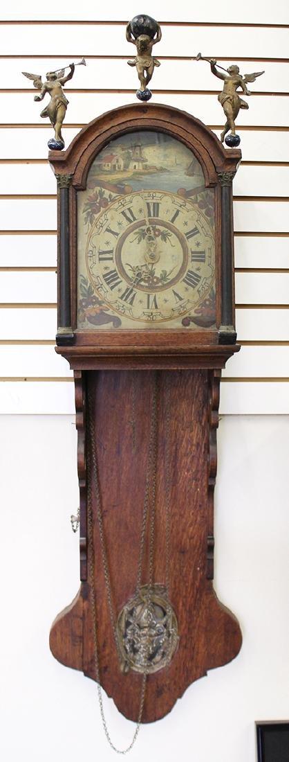 18TH CENTURY DUTCH WALL CLOCK