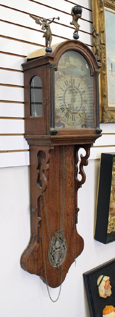 18TH CENTURY DUTCH WALL CLOCK - 2