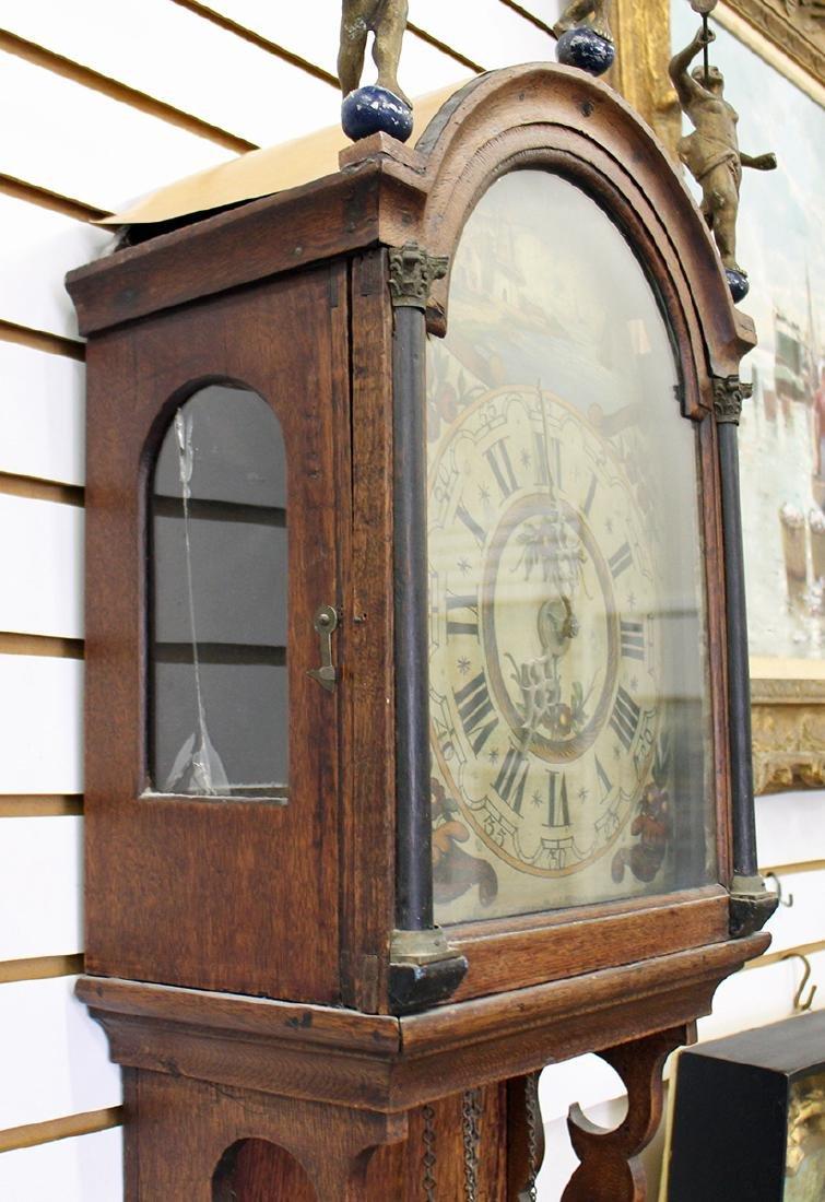 18TH CENTURY DUTCH WALL CLOCK - 3