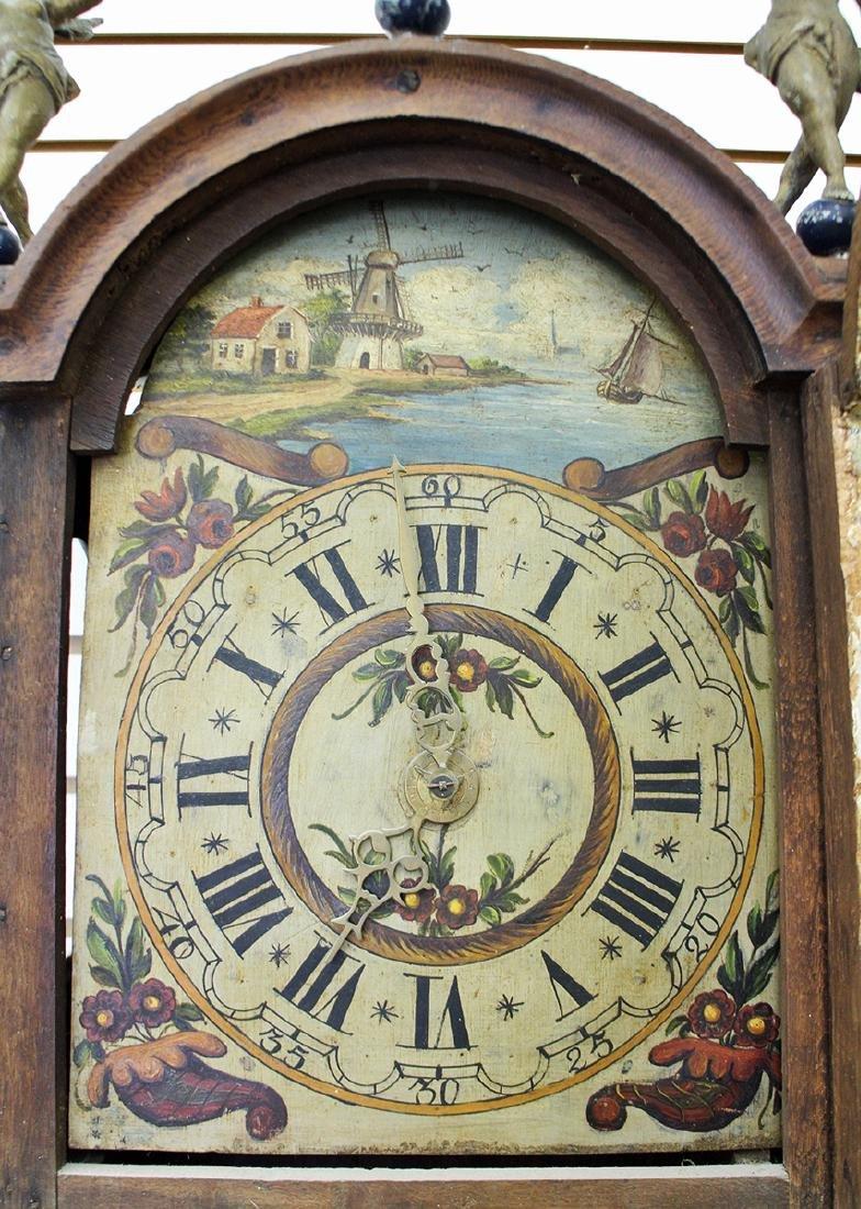 18TH CENTURY DUTCH WALL CLOCK - 4
