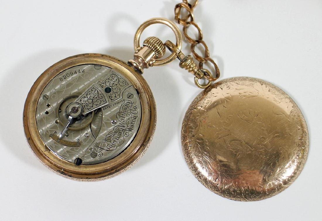 (3) POCKET WATCHES - WALTHAM, ELGIN, & MORE - 3