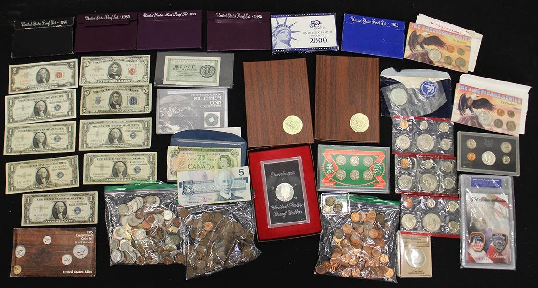 U.S. & FOREIGN COIN COLLECTION