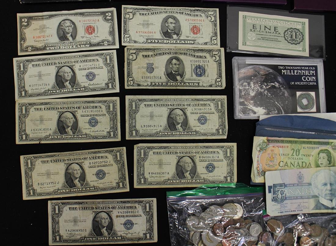 U.S. & FOREIGN COIN COLLECTION - 2