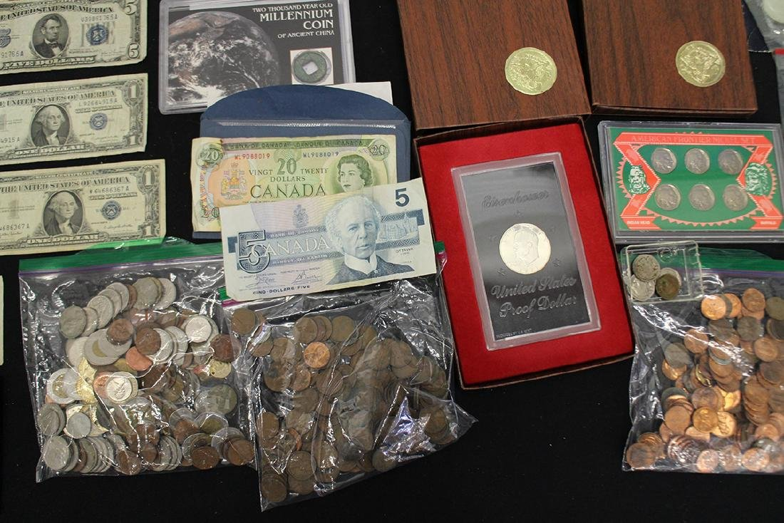 U.S. & FOREIGN COIN COLLECTION - 3