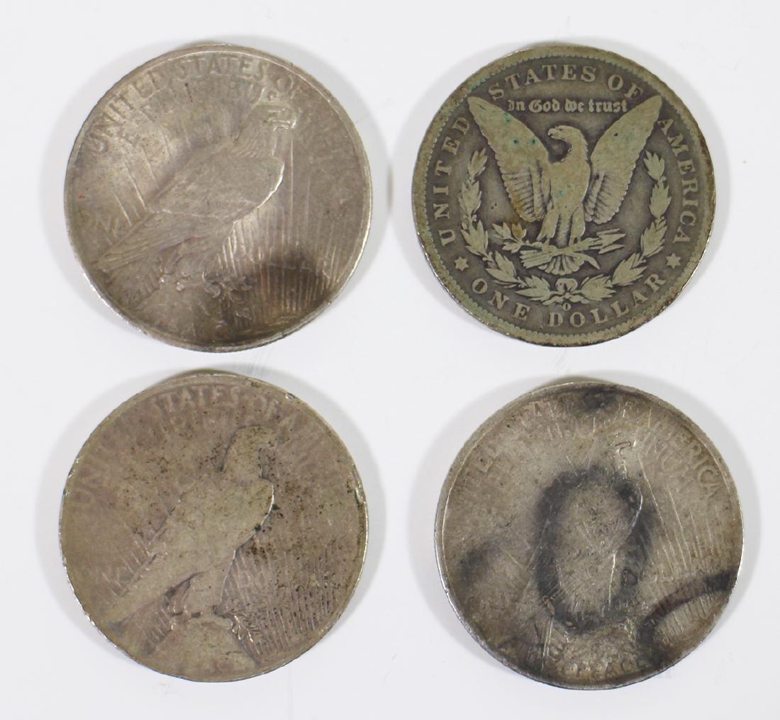 (4) SILVER DOLLAR COINS - 2