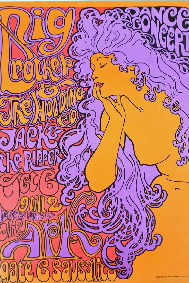 1967 BIG BROTHER SAUSALITO CONCERT POSTER - 2