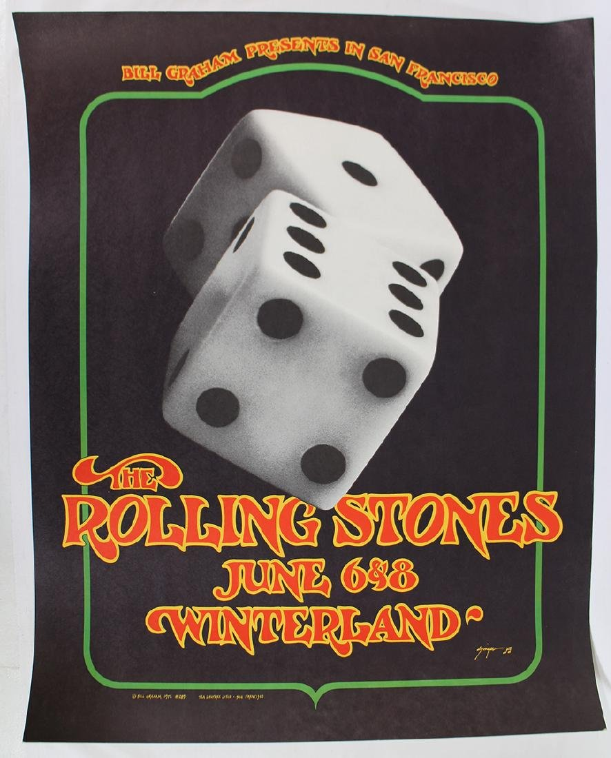 1972 ROLLING STONES CONCERT POSTER - 2
