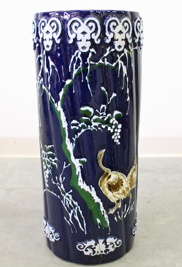 POTTERY UMBRELLA STAND