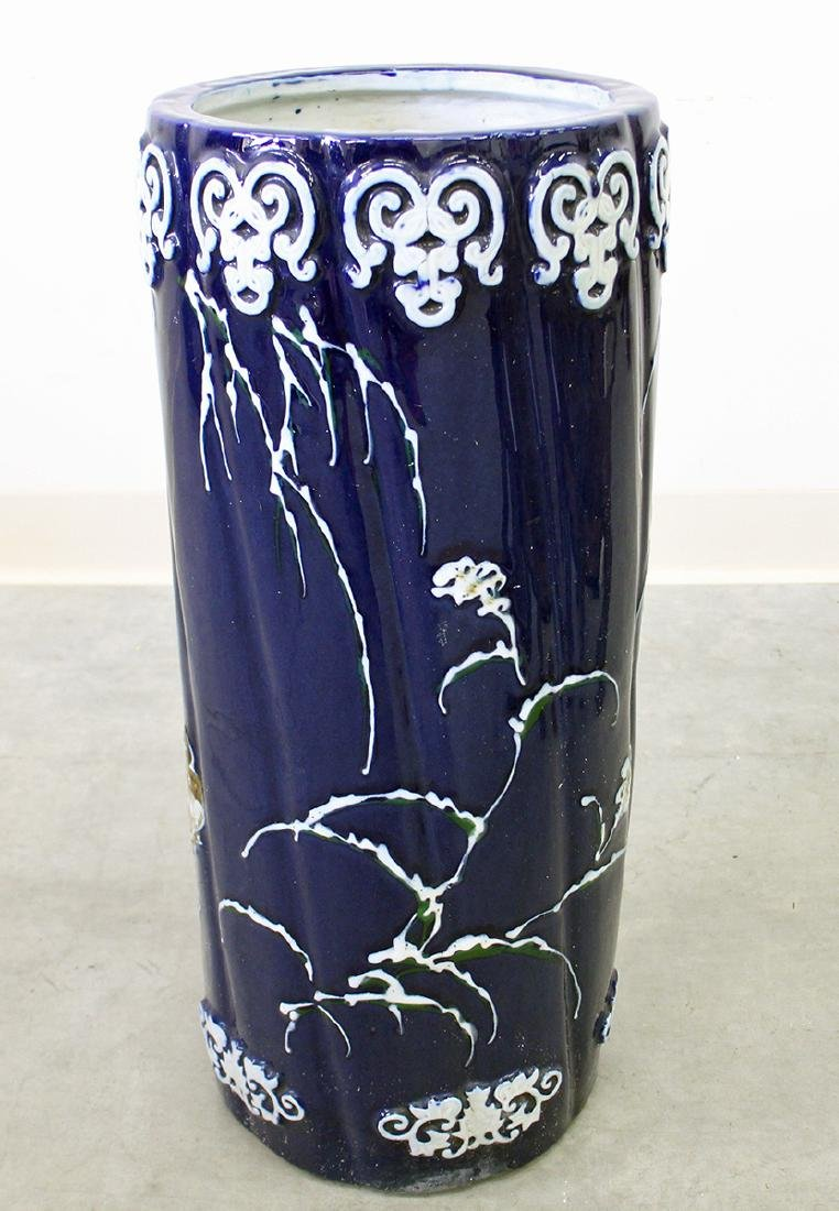 POTTERY UMBRELLA STAND - 2