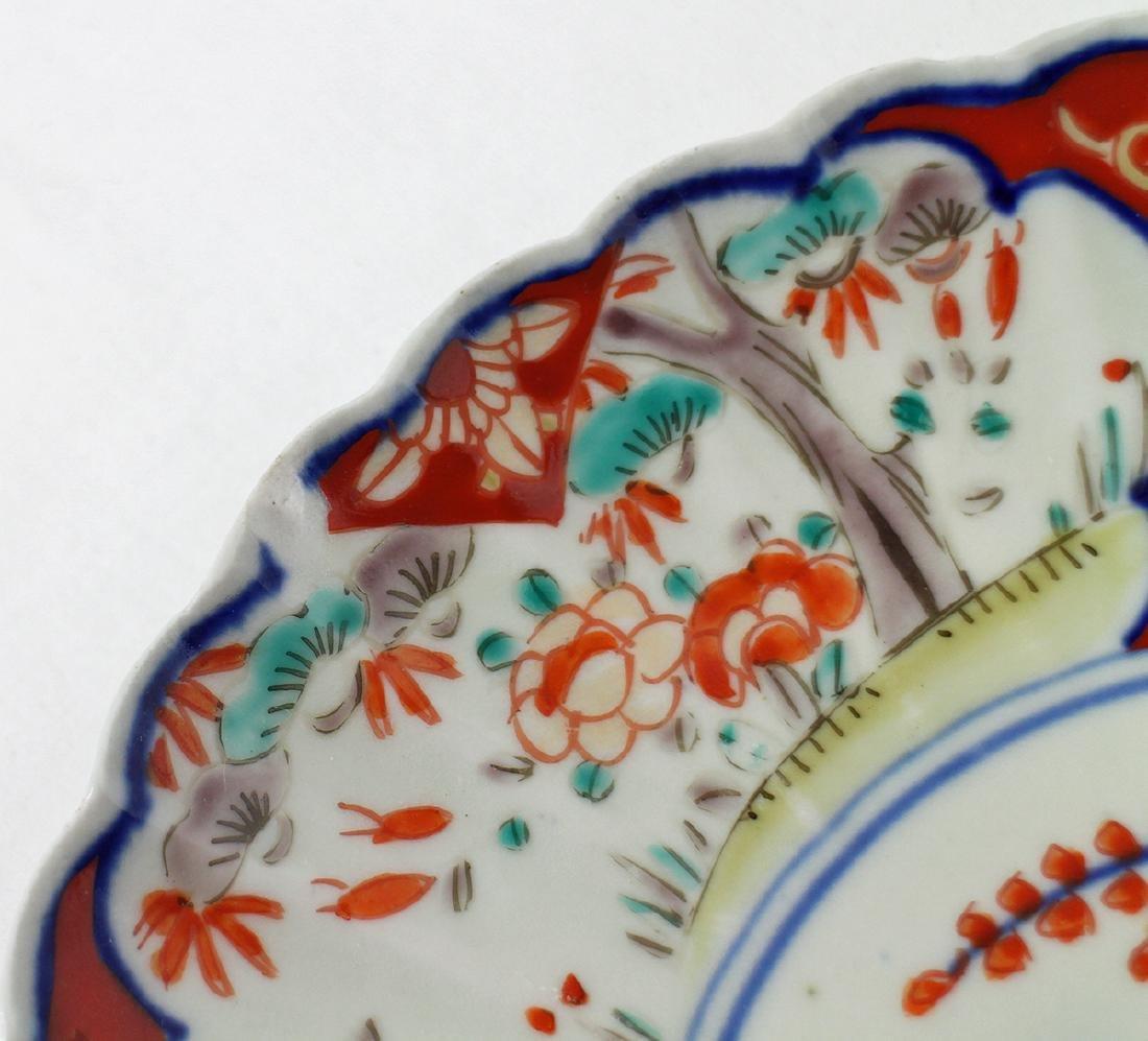 (3) 18th / 19th CENTURY JAPANESE IMARI PLATES - 3