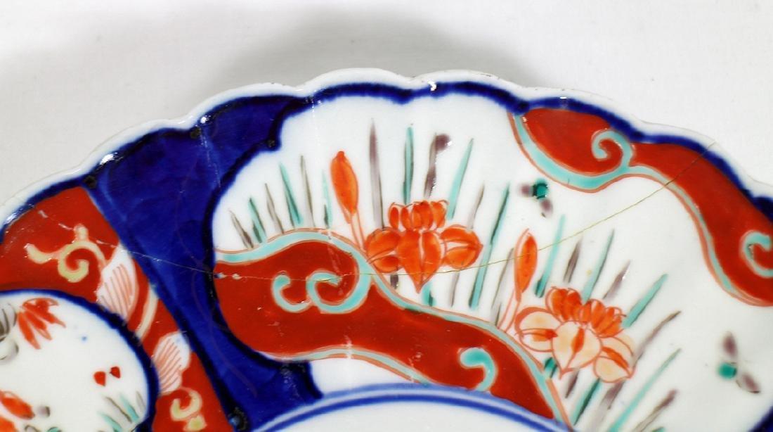 (3) 18th / 19th CENTURY JAPANESE IMARI PLATES - 4