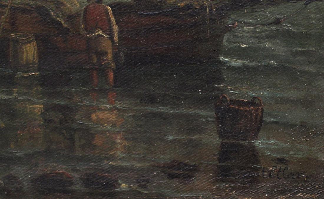 19TH CENTURY SEASCAPE PAINTING - ETLAR - 4