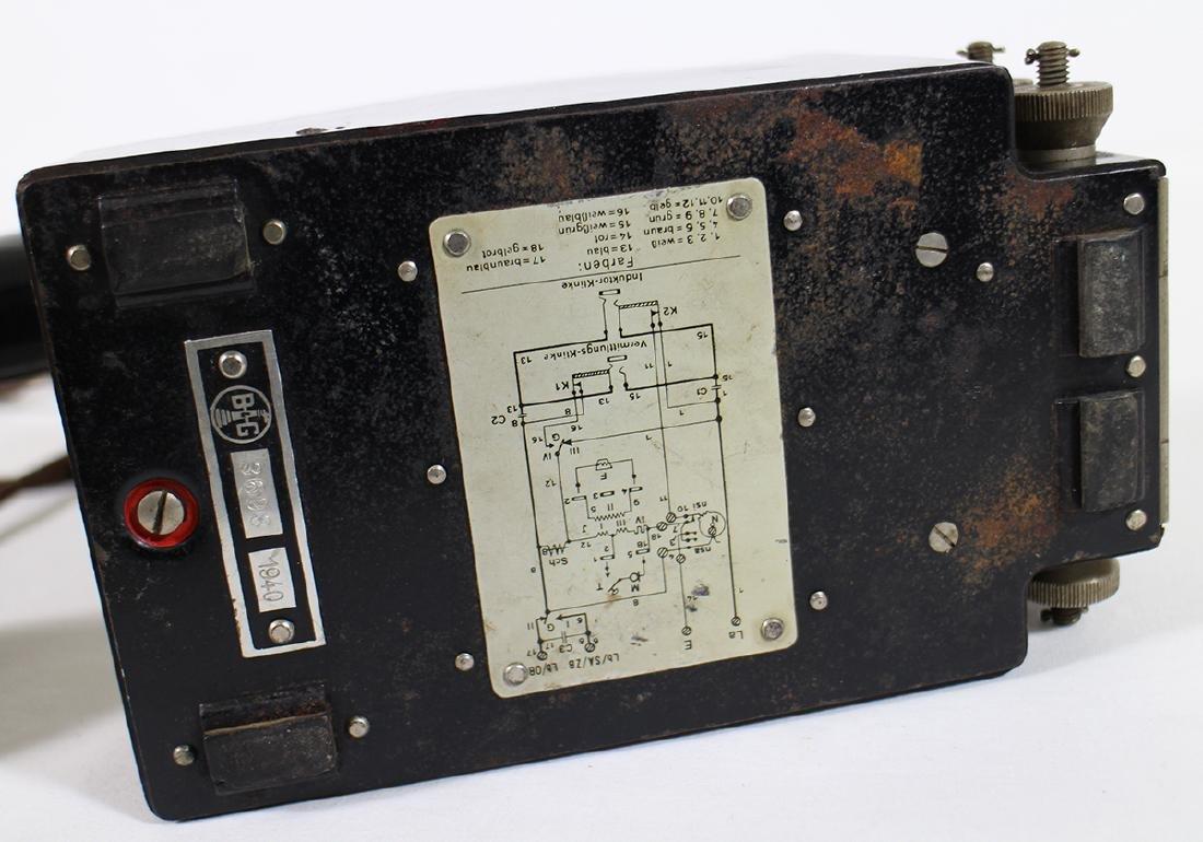 WWII GERMAN BAKELITE TELEPHONE AMSTANSCHLIEBER 33 - 3