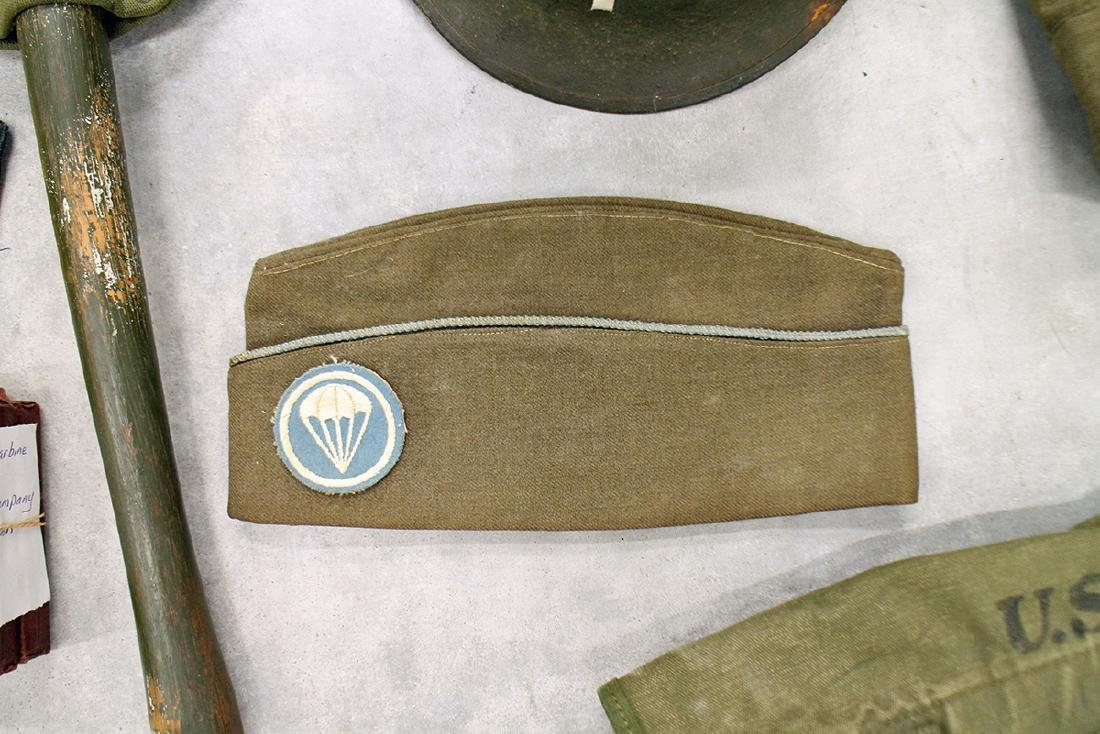 WWII US ARMY FIELD GEAR, JACKET, HELMET & MORE - 3