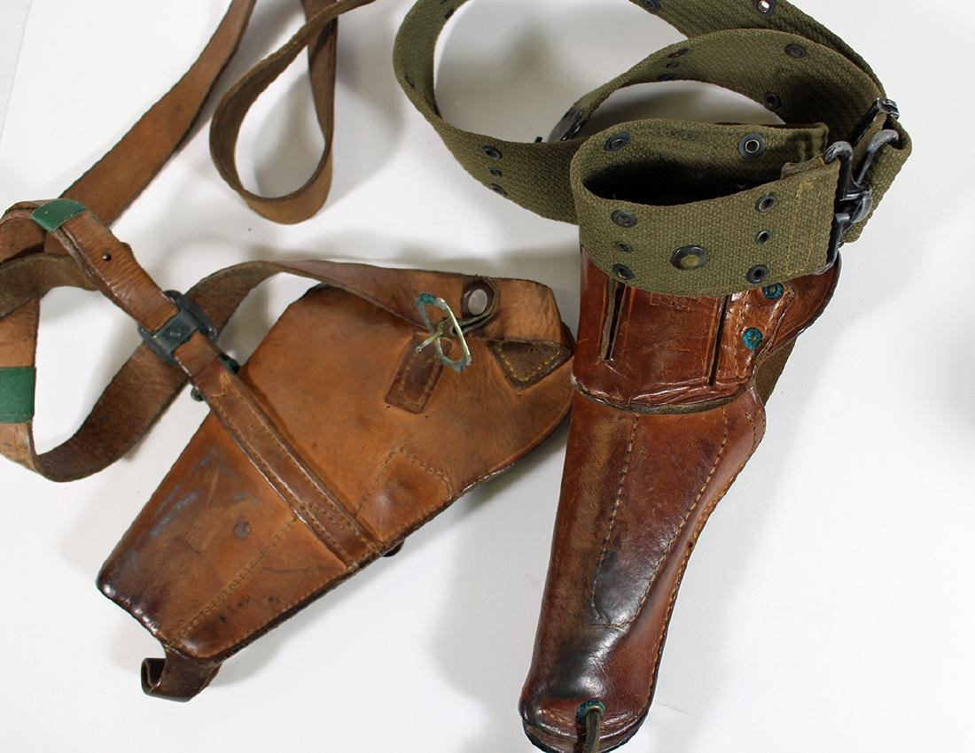 (2) WWII US MILITARY HOLSTERS - BOYT & ENGER-KRESS - 3