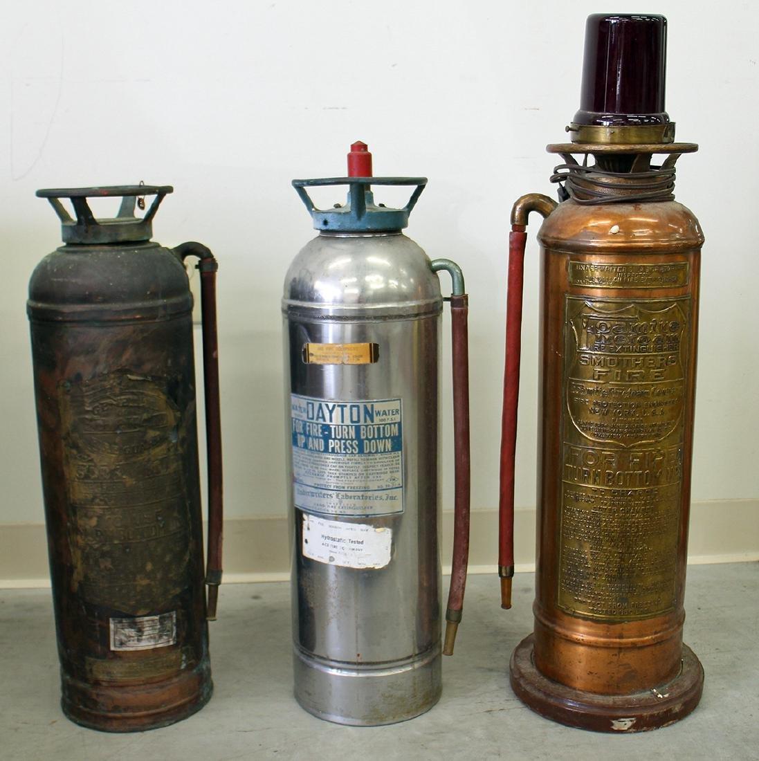 (3) VINTAGE FIRE EXTINGUISHERS